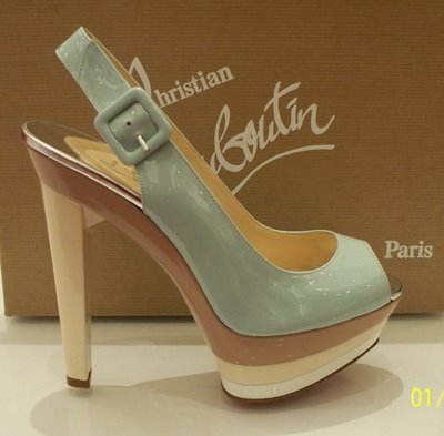 baby blue christian louboutins
