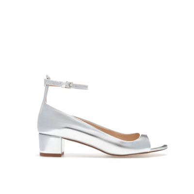 ZARA METALLIC SANDALS WITH ANKLE STRAPS_2358_201_1.54inch