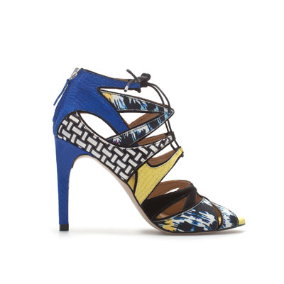 ZARA MULTICOLORED LACE-UP SANDAL_2380-201_4.13 inches